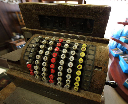 """Old Cash Register"" - Image by Wikimedia Commons user TANAKA Juuyoh"