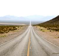 """The Long Road Ahead"" - image by Wikimedia Commons user Jon Rawlinson"