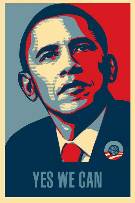 "Obama ""Yes We Can"" Poster"