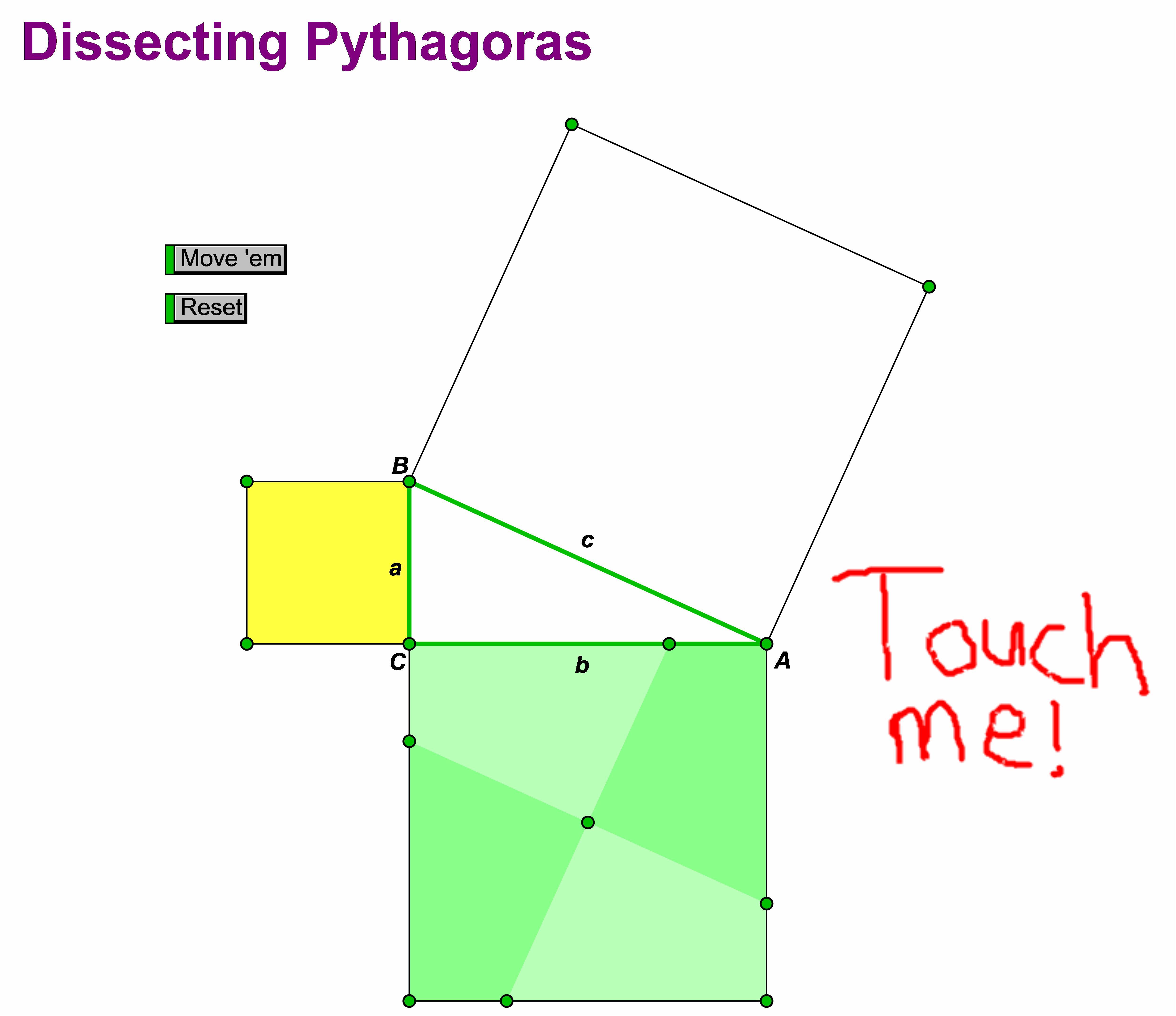Pythagoras sketch