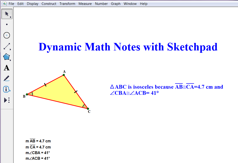 Dynamic Notes with Hot Text Sketchpad