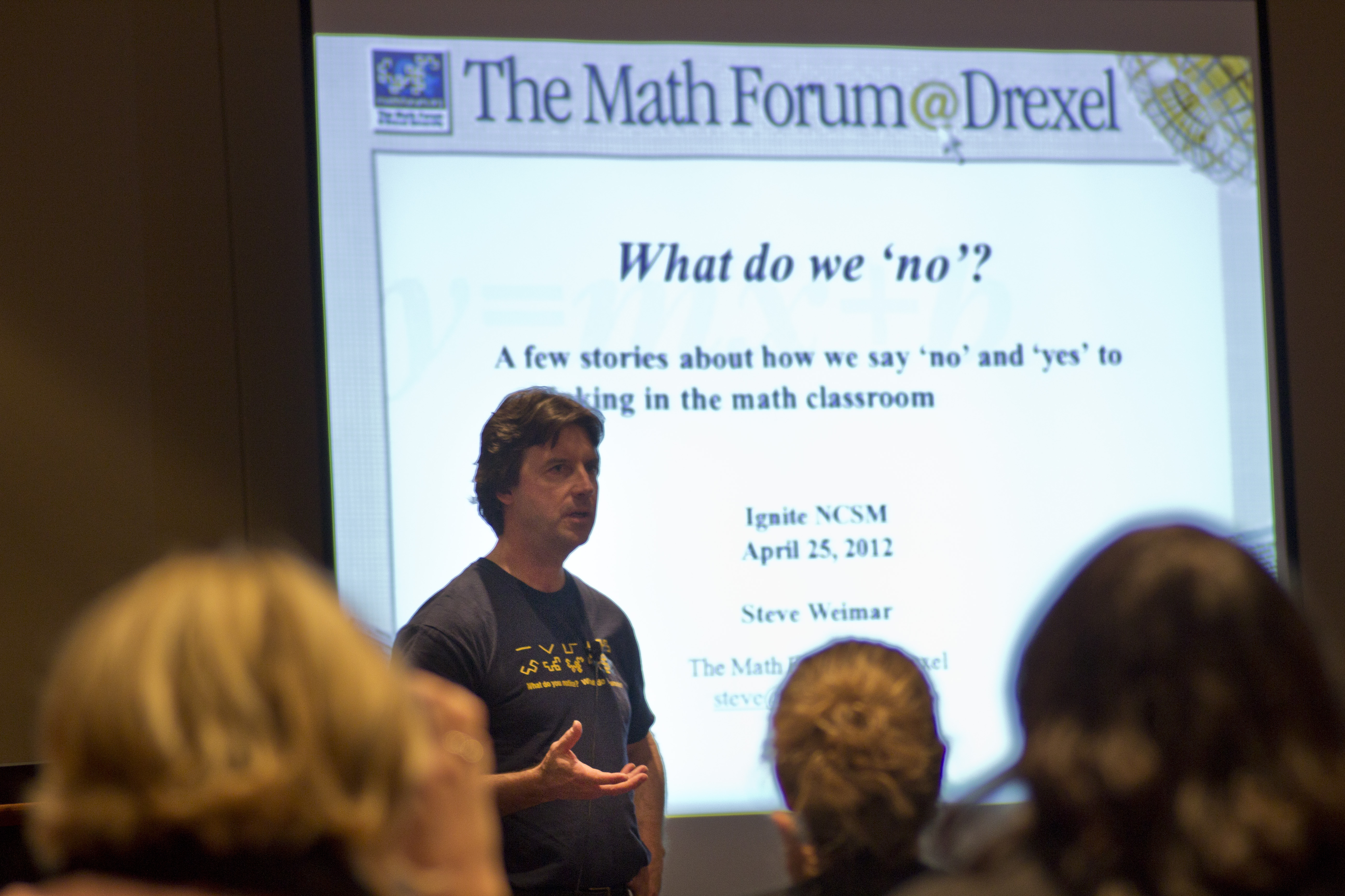 Steve Weimar at NCSM Ignite 2012