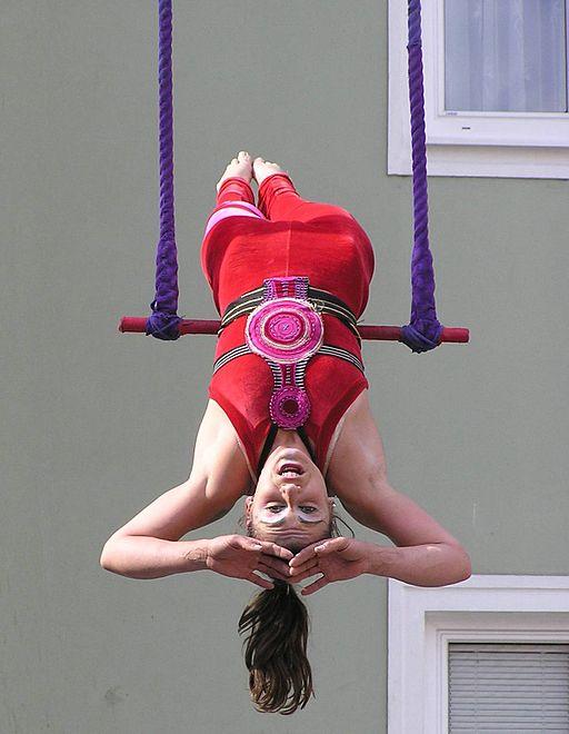 image of gymnast in Theaker von Ziarno