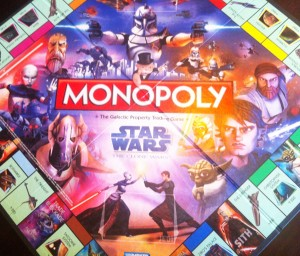 Monopoly Star Wars The Clone Wars